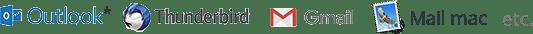 compatibilité email impact